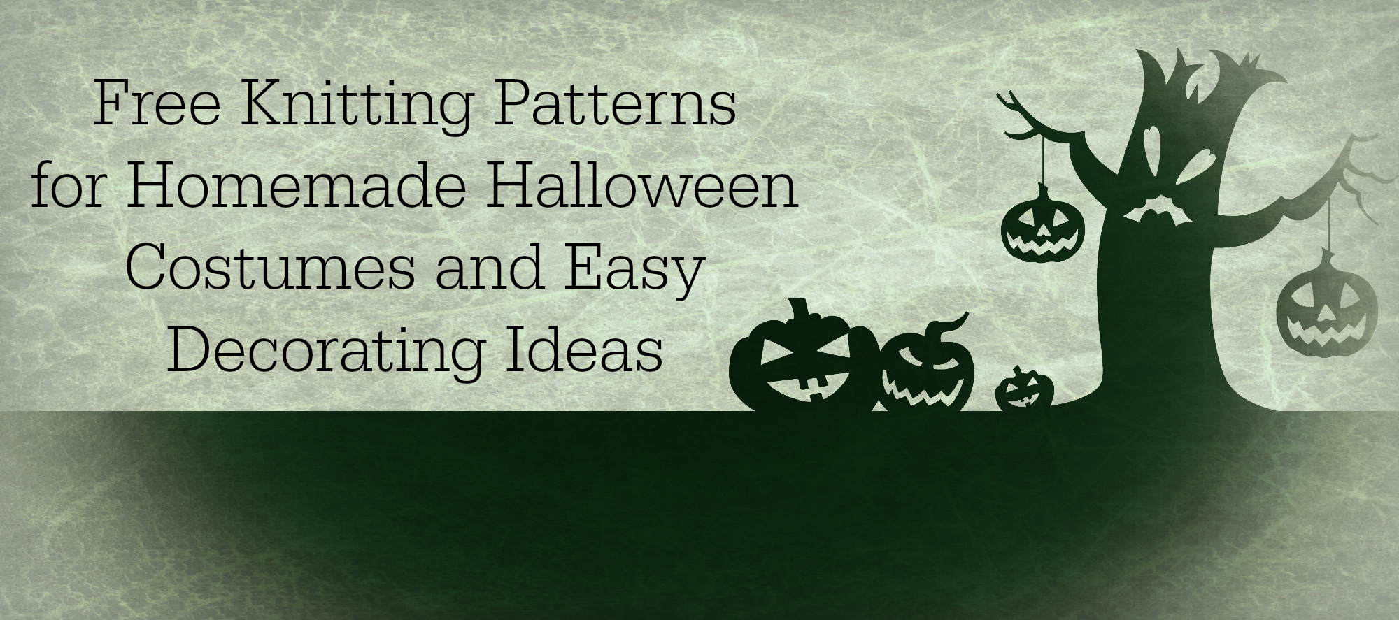 7 Free Knitting Patterns for Homemade Halloween Costumes and Easy ...