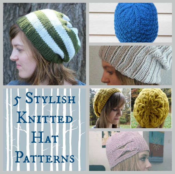 5 Stylish Knitted Hat Patterns Stitch And Unwind