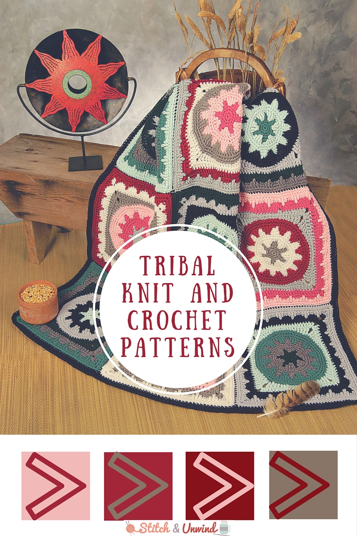 Tribal Patterns: Free Knit & Crochet Patterns - Stitch and Unwind