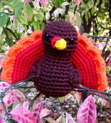 Gobble Gobble Turkey Amigurumi