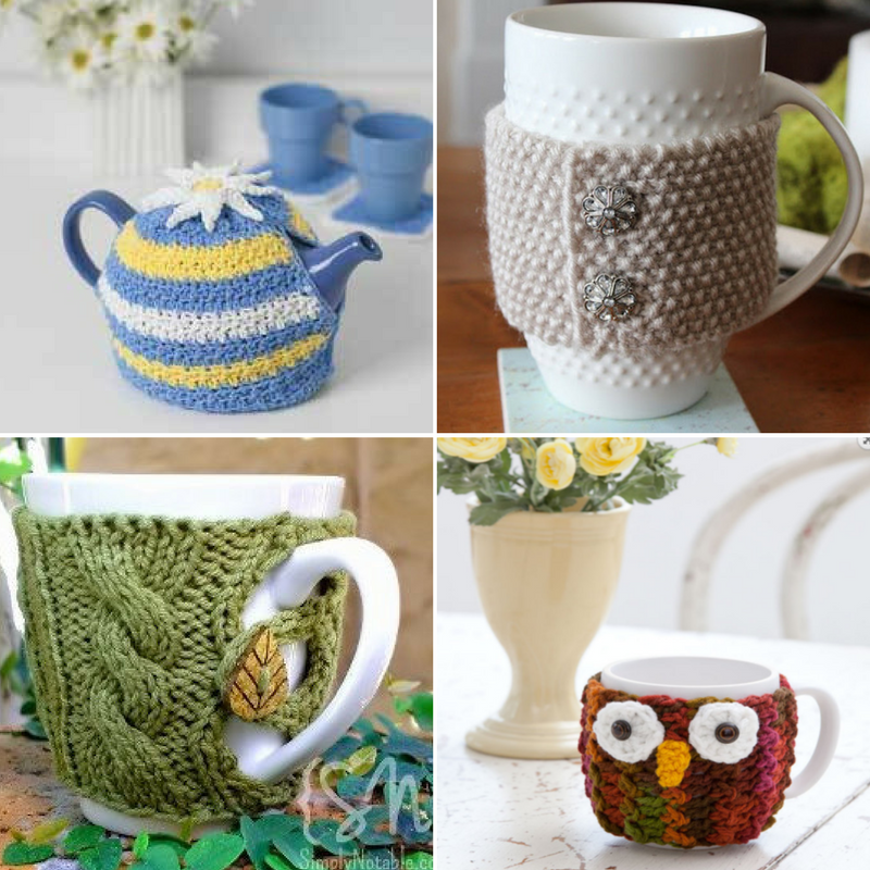 Hug That Mug Patterns For The Coffee Tea Lover Stitch And Unwind