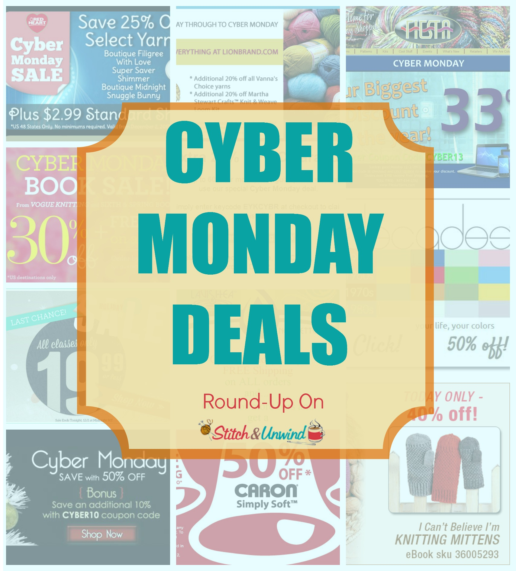 Cyber monday the best yarn deals stitch and unwind fandeluxe Choice Image