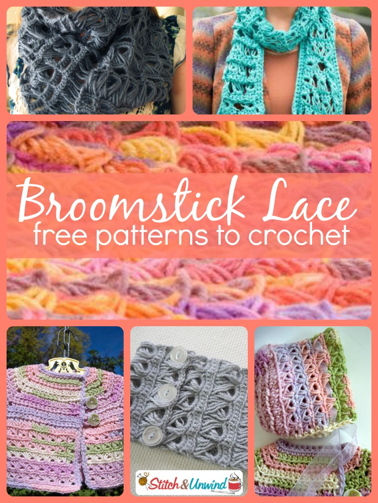 Trending Broomstick Lace Patterns To Crochet Stitch And Unwind