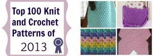 Top knit and crochet patterns of 2013