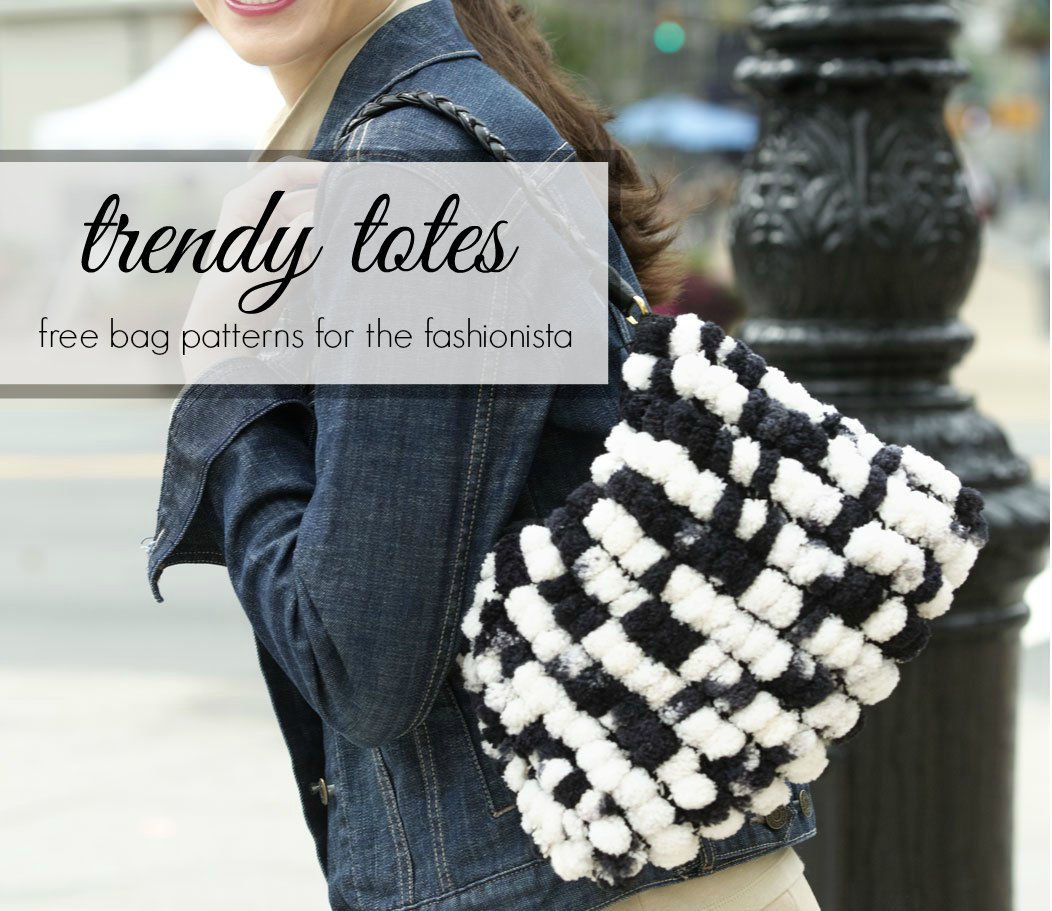 Trendy Totes: Free Bag Patterns for the Fashionista - Stitch and Unwind