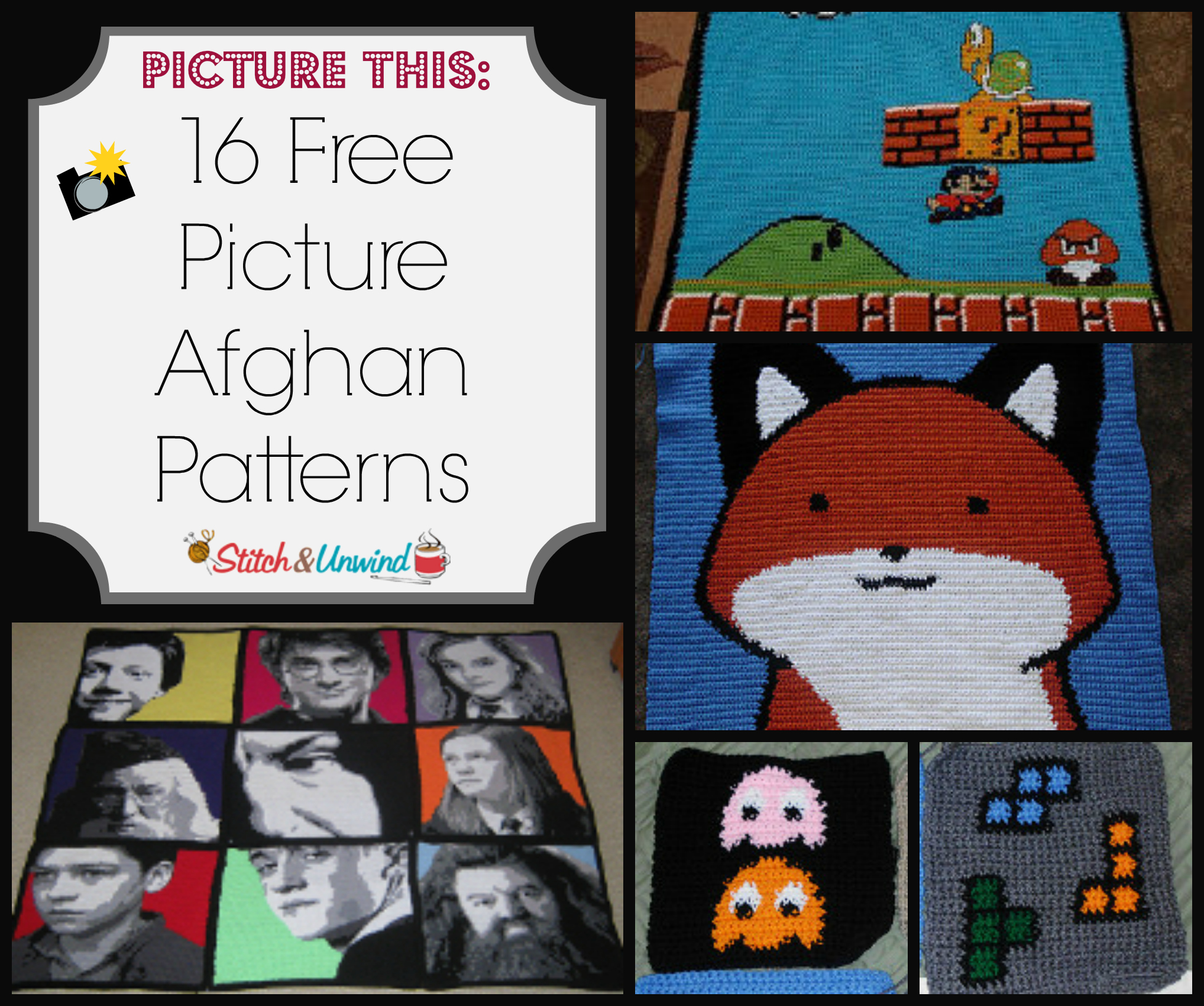 Picture This 16 Free Picture Afghan Patterns Stitch And Unwind
