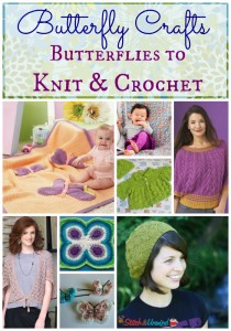 Butterfly Crafts: Butterflies to Knit and Crochet