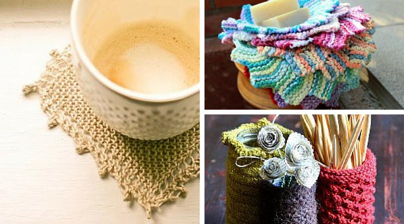 Spring Renewal: DIY Home Décor Knitting Patterns