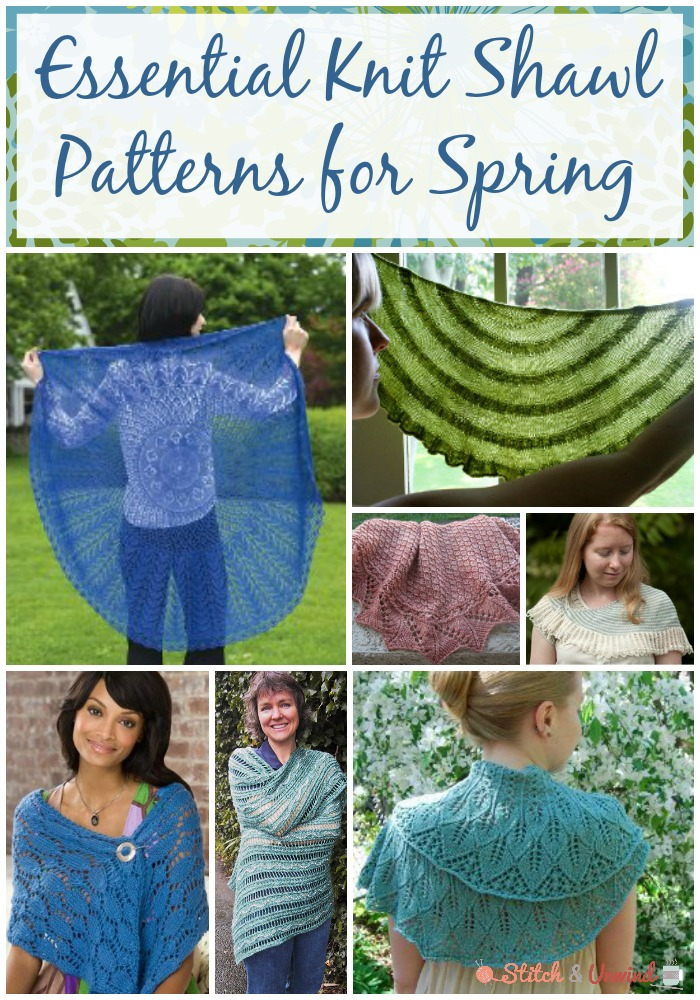 Essential Knit Shawl Patterns For Spring Stitch And Unwind