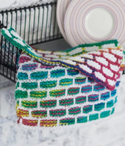 Stained Glass Dishcloth