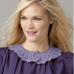 Ruffled Crochet Collar