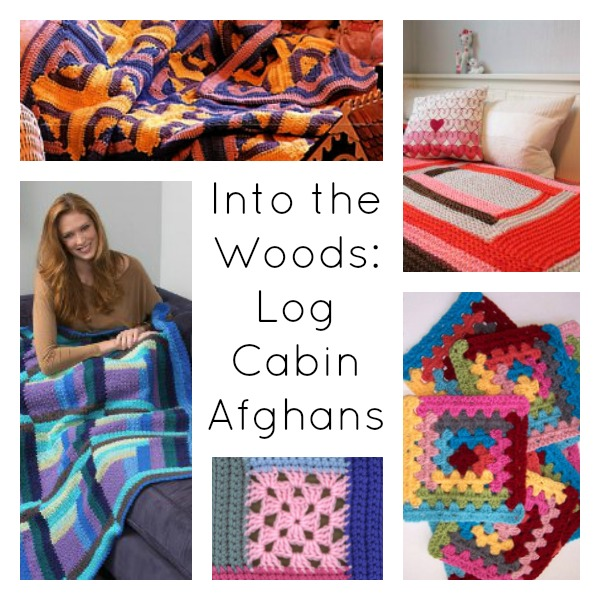 Into The Woods 8 Log Cabin Afghans