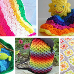 Rainbow Crochet Patterns for Spring