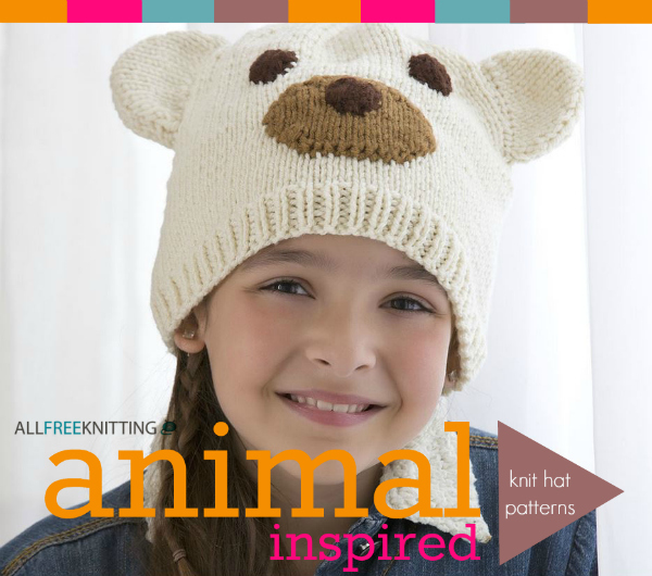 Animal Inspired Knit Hat Patterns - Stitch and Unwind 9ca6bca9495
