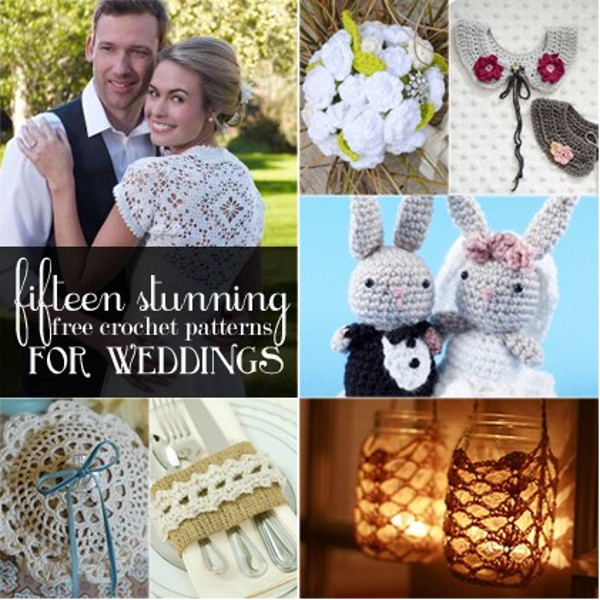15 Stunning Free Crochet Patterns for Weddings - Stitch and Unwind