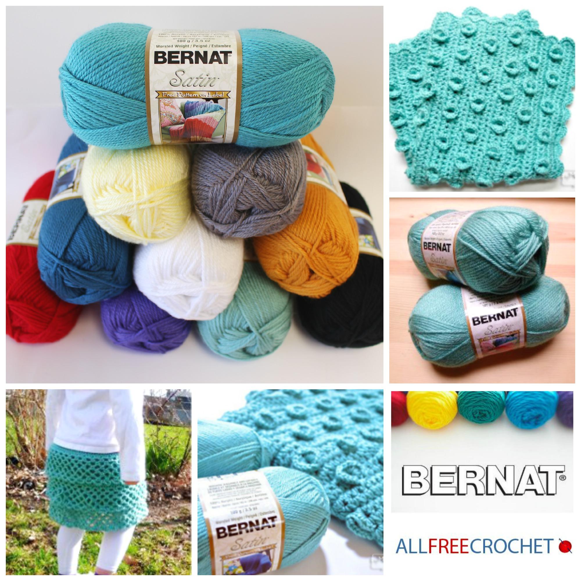 Your New Favorite Yarn: Bernat Satin - Stitch and Unwind