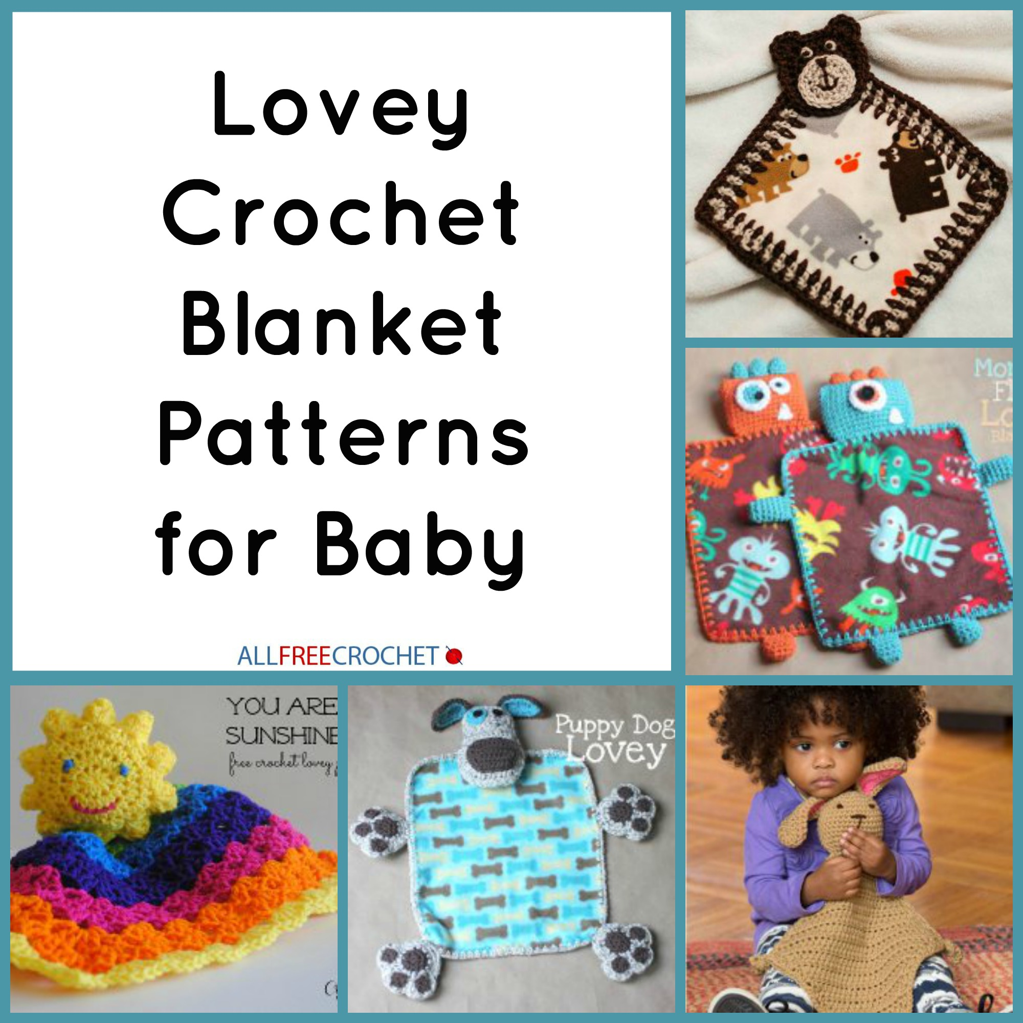 The Very Best Baby Blankets Crochet Lovey Blankets Stitch And Unwind
