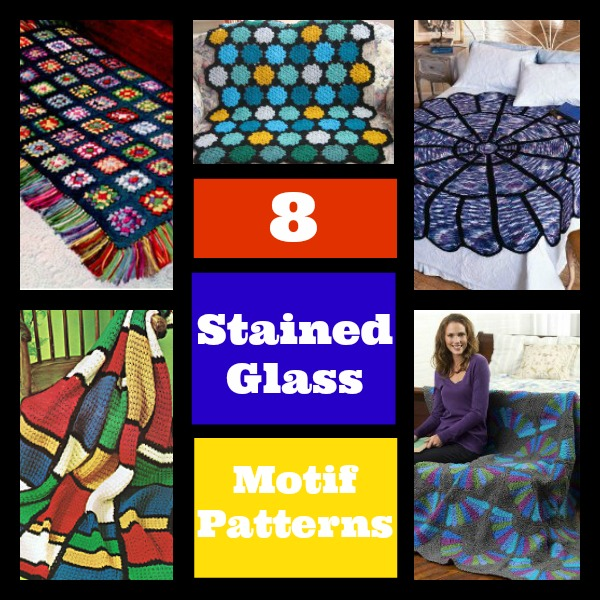 Trendspotting 8 Stained Glass Motif Patterns Stitch And Unwind
