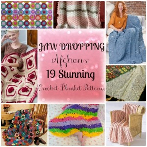 Jaw Dropping Afghans: 19 Stunning Crochet Blanket Patterns
