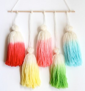 Ombre Tassels from One Sheepish Girl