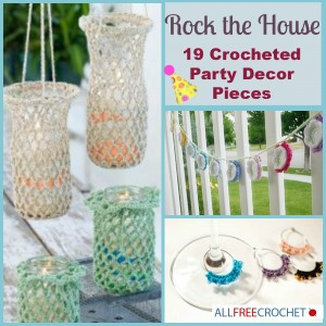 Crocheted Party Decor
