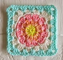 Summer Sherbet Granny Square Pattern