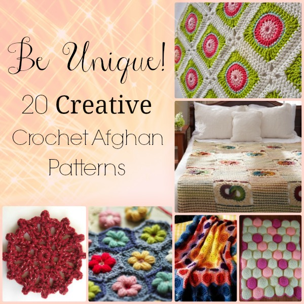 Be Unique 20 Creative Crochet Afghan Patterns Stitch And Unwind