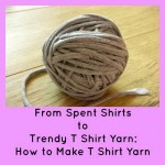 From Spent Shirts to Trendy T Shirt Yarn: How to Make T Shirt Yarn