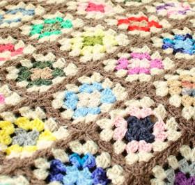 The Amazing Technicolor Crochet Afghan