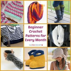 Beginner Crochet Patterns for Every Season