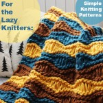 For The Lazy Knitters: 25 Simple Patterns