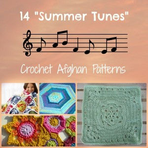 14 Summer Tunes Crochet Afghan Patterns