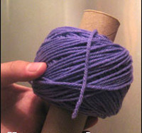 How to Make a Center Pull Ball of Yarn