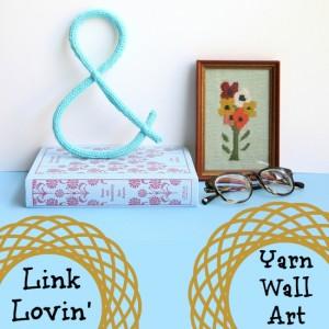 Link Lovin' with Yarn Wall Art