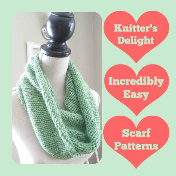 Knitter S Delight 25 Incredibly Easy Scarf Patterns Stitch And Unwind