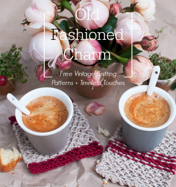 Old Fashioned Charm 9 Free Vintage Knitting Patterns Timeless