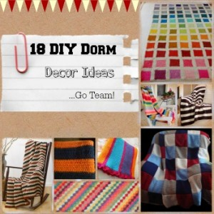 18 DIY Dorm Decor Ideas