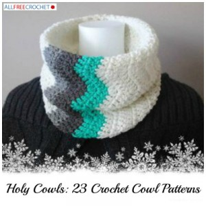 23 Crochet Cowl Patterns