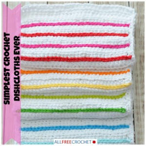 Simplest Crochet Dishcloths