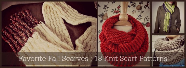 Favorite Fall Scarves 18 Knit Scarf Patterns Stitch And Unwind