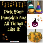 Pick Your Pumpkin: Crochet Pumpkins and More