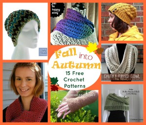 Fall into Autumn: 15 Free Crochet Patterns