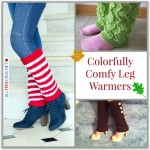 Colorfully Comfy Leg Warmers