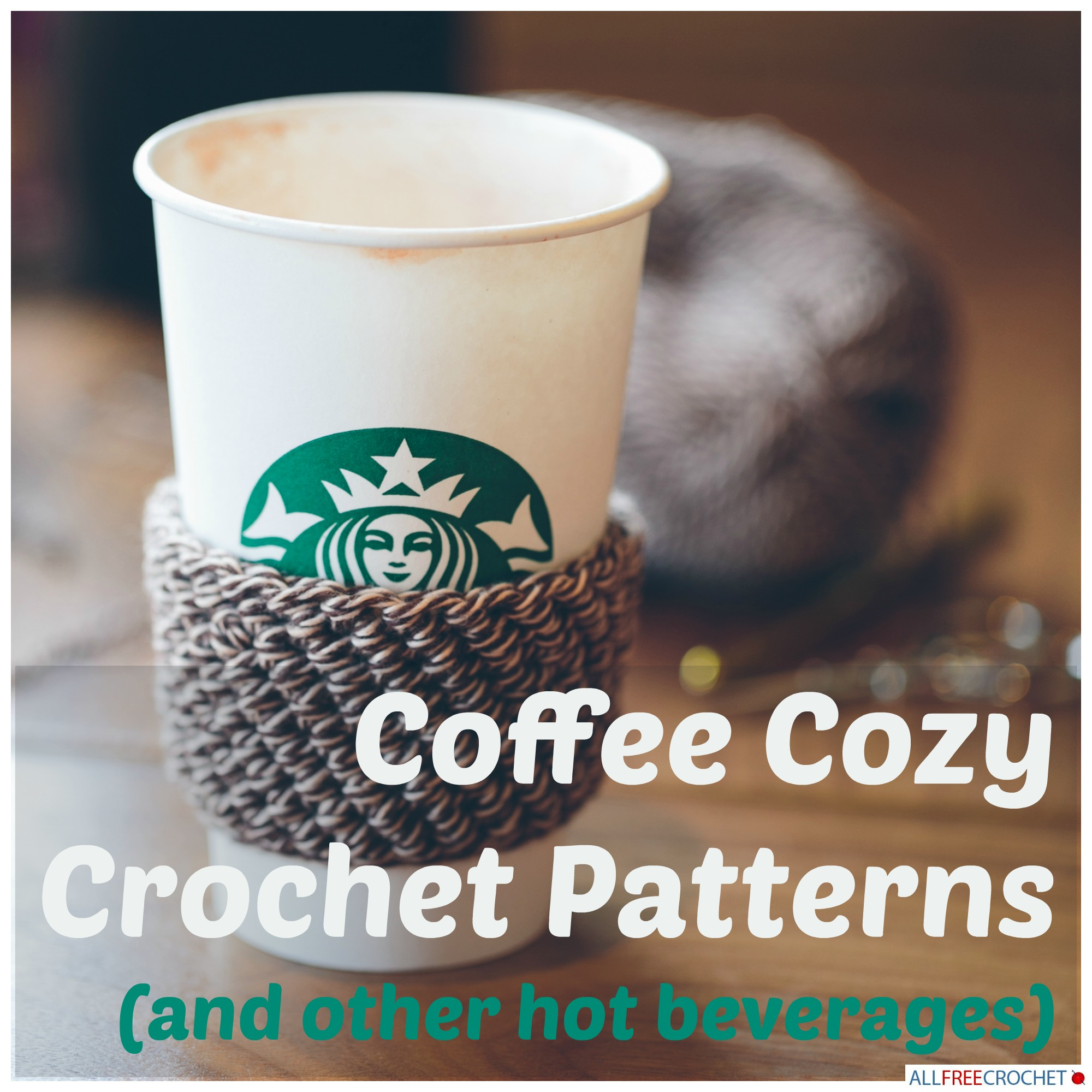Coffee Cozy Crochet Patterns - Stitch and Unwind