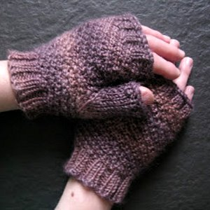 Mulberry Spiral Mitts