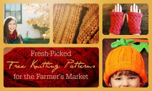 Free Knitting Patterns for the Farmer's Market