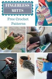 Free Fingerless Mitts Crochet Patterns
