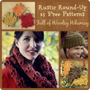 Rustic Round-Up 25 Free Patterns Full of Woodsy Whimsy