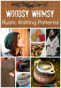 Woodsy Whimsy Rustic Free Knitting Patterns