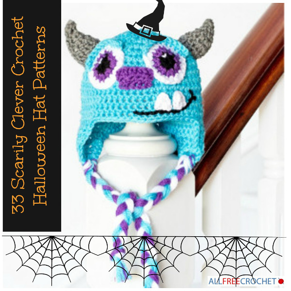 33 Scarily Clever Crochet Halloween Hat Patterns